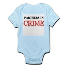 Partners in Crime Infant Creeper