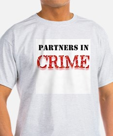 Partners in Crime Ash Grey T-Shirt