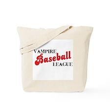 Vampire Baseball League Tote Bag