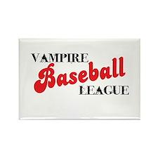 Vampire Baseball League Rectangle Magnet (10 pack)