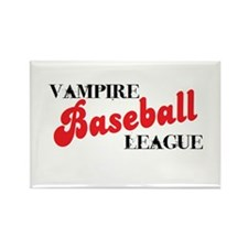 Vampire Baseball League Rectangle Magnet