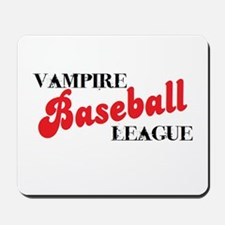Vampire Baseball League Mousepad