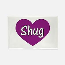 Shug Rectangle Magnet