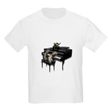 Piano with Three Ferrets T-Shirt