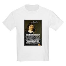 Rene Descartes Kids T-Shirt