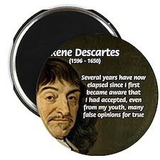 Rene Descartes Magnet