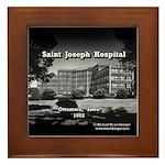 St. Joseph Hospital Framed Tile
