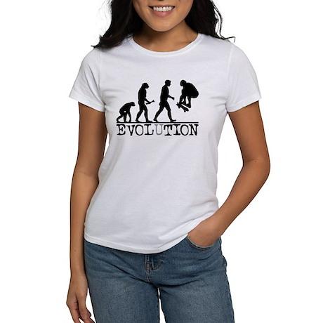 EVOLUTION Skateboarding Women's T-Shirt