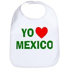 Yo Amo Mexico Bib