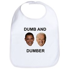 Obama Dumb and Dumber Bib