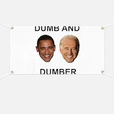 Obama Dumb and Dumber Banner