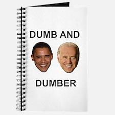 Obama Dumb and Dumber Journal