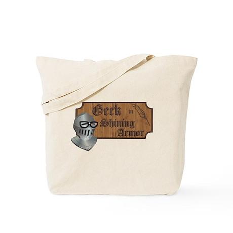 Geek Armor Tote Bag