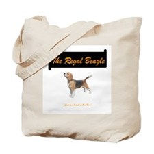 Regal Beagle Tote Bag