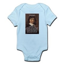 Philosopher Rene Descartes Infant Creeper