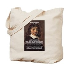 Philosopher Rene Descartes Tote Bag