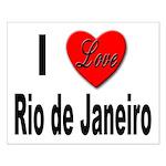 I Love Rio de Janeiro Small Poster