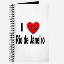 I Love Rio de Janeiro Journal