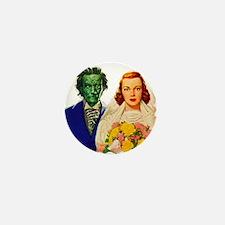Zombie Love Bride Mini Button