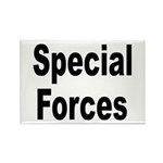 Special Forces Rectangle Magnet