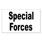 Special Forces Rectangle Sticker