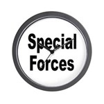 Special Forces Wall Clock