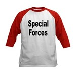 Special Forces (Front) Kids Baseball Jersey
