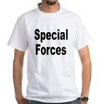 Special Forces (Front) White T-Shirt