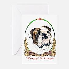 Bulldog Holiday Greeting Cards (Pk of 10)