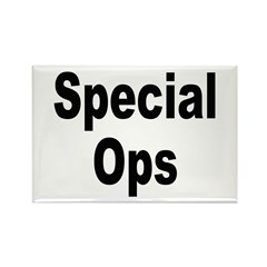 Special Ops Rectangle Magnet (10 pack)
