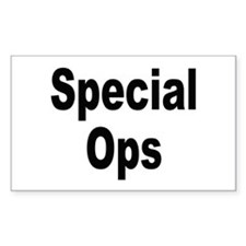 Special Ops Rectangle Decal