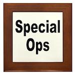Special Ops Framed Tile