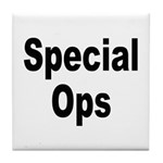 Special Ops Tile Coaster