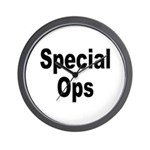Special Ops Wall Clock