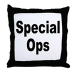 Special Ops Throw Pillow