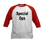 Special Ops (Front) Kids Baseball Jersey