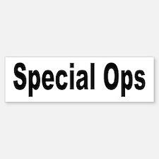 Special Ops Bumper Bumper Bumper Sticker