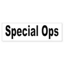 Special Ops Bumper Car Sticker