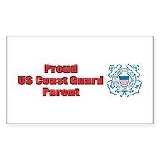 USCG Parent Rectangle Decal