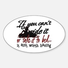 If You Can't Ride It... snowmobiling Decal