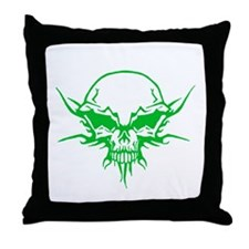 Skull Tattoo 3 Throw Pillow