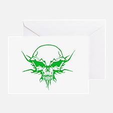 Skull Tattoo 3 Greeting Card