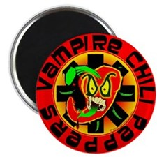 "Vampire Chili Peppers Red 2.25"" Magnet (100 p"