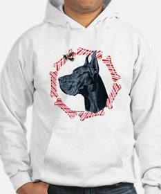 Great Dane Christmas Hoodie