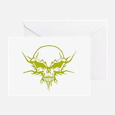Skull Tattoo 4 Greeting Card
