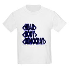 HTML < HEAD BODY DEMOCRAT > Kids T-Shirt