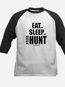 Eat Sleep Duck Hunt Kids Baseball Jersey