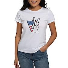 Sign Peace USA Tee