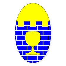 Citadel Populace Oval Sticker