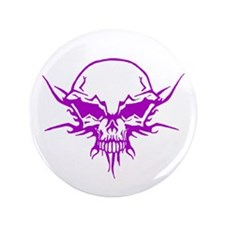 "Skull Tattoo 5 3.5"" Button"